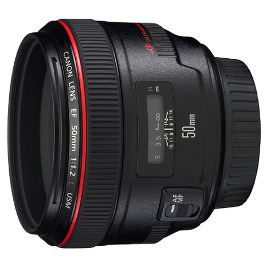 Canon 50mm f1.2 Lens Hire Rental Sydney EF 1.2 L