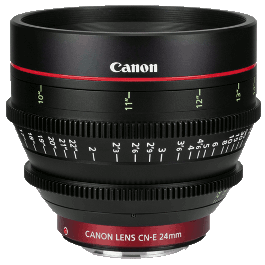 Canon CN-E 24mm Lens Hire T1.5 Cinema CNE 24