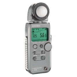 Sekonic L-358 Light Meter Hire Rental Sydney Australia