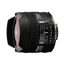 Nikon 16mm fisheye lens hire Sydney Nikkor Rental f/2.8 D